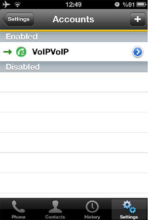 iPhone Bria SIP Settings for VoIP Setup and Configuration